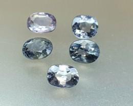 4.65 Crt Natural Spinel Parcels Faceted Gemstone (R 107)