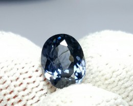 UNTREATED 1.40 CTS NATURAL BEAUTIFUL OVAL MIXED BLUE SPINEL