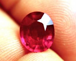 3.29 Carat Fiery Cherry Ruby - Superb