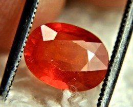 1.87 Carat Included Orange Sapphire - Beautiful