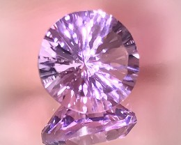4.45ct Phenomenal Custom Master Cut Designer Amethyst Collector's Gem