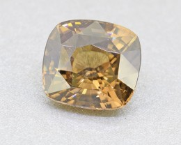 Natural Unheated BIG Yellowish Brown Zircon 5.46 Ct.(00822)