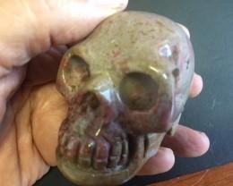 0.29 Kilo Jasper Gemstone Skull  PPP 1683