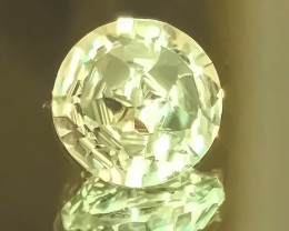 5.75ct Rare Star Cut Green Amethyst  (Prasiolite) -