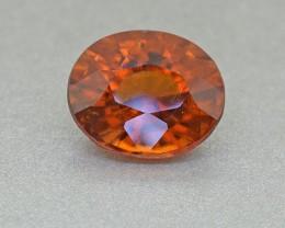 BIG Natural Untreated Hessonite Garnet 4.85 Ct.(00802)