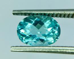 1.0 CT GIL Certified Natural Paraiba Tourmaline Clean AA Quality Gemstone