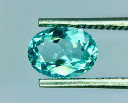 0.76CT GIL Certified Natural Paraiba Tourmaline Clean AA Quality Gemstone