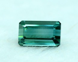 NO Reserve 2.55 cts Flawless Untreated Indicolite Tourmaline