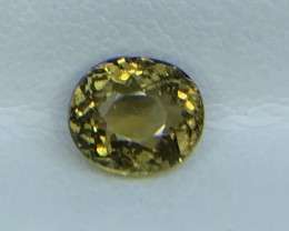 1.32 CT NATURAL YELLOW TOURMALINE HIGH QUALITY GEMSTONE S91