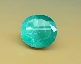 6.95 Crt World Rare Grandidierite Faceted Gemstone (R 108)