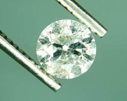 0.49 CT GIL Certified Natural Diamond With Excellent Luster Gemstone
