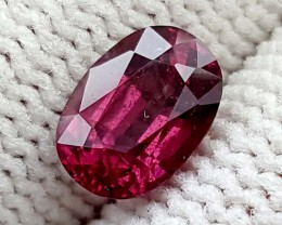 1.35CT RHODOLITE GARNET BEST QUALITY GEMSTONE IGC84