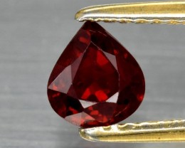Red Ruby 0.90 ct Mozambique