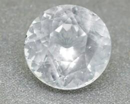 Ceylon White Sapphire 2.05 Ct. Round Brilliant Cut (00629)