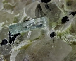 3070 Cts Unheated, Natural   Aquamarine Quartz Combine Specimen