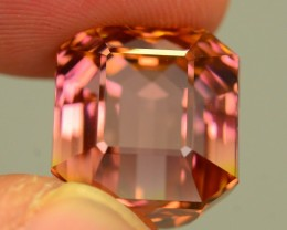 AAA Grade 15.9 ct Bubble Gum Bi Color Tourmaline Great Hue and Luster SKU.8