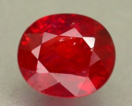 Unheated Ruby 0.75 ct Top Color Mozambique SKU.4