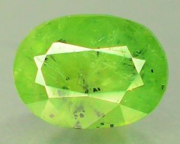 1.75 ct Natural Demantoid Garnet w Horsetail Inclusion