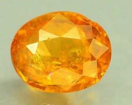 0.60 ct Natural Hessonite Garnet