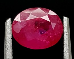 1.30Ct Ruby Unheated Top Grade Gemstone IGCRB03