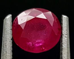 0.90Ct Ruby Tajikistan Unheated Top Grade Gemstone IGCRB05