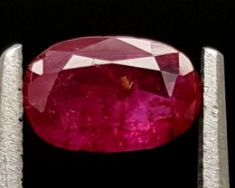 0.80Ct Ruby Tajikistan Unheated Top Grade Gemstone IGCRB11