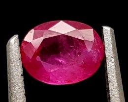 0.60Ct Ruby Tajikistan Unheated Top Grade Gemstone IGCRB23