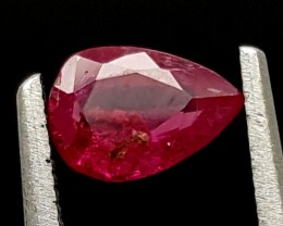 0.60Ct Ruby Tajikistan Unheated Top Grade Gemstone IGCRB28