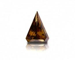 2.00 ct. Natural Fancy Deep Orangy Brown Trilliant shape Diamond