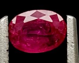 0.35Ct Ruby Tajikistan Unheated Top Grade Gemstone IGCRB51