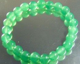 87.70 ct Natural Beautiful Aventurine Beats 8 mm Round