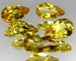 2.29 ct Natural Beautiful Yellow Beryl Pears Shape Brazil