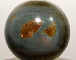 "2.2"" Polychrome Desert Jasper Crystal Sphere Madagascar STPJS-CS38"