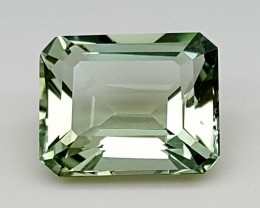 REMARKABLE GREEN AMETHYST (PARSOLITE )3.45 Cts  Gemstone   Jl156