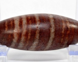 66mm Shiva Lingam Narmada River Lingham Egg-Shaped Stone India SH-VV80
