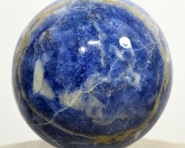 48mm Blue Sodalite Sphere Crystal Mineral Stone Ball Brazil STSOB-PA47