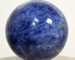 44mm Blue Sodalite Sphere Crystal Mineral Stone Ball Brazil STSOB-PA48