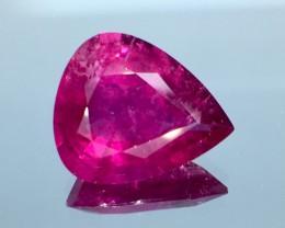 9.56 Ct  Beautiful Lustrous Natural Reddish Rubelite