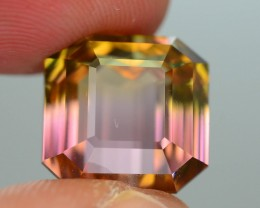 15.52 ct Bi Color Tourmaline VVS AAA Grade Himalaya Mine San Diego SKU.8
