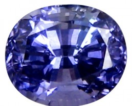 1.23 ct Natural Beautiful Blue Sapphire Oval Shape Madagascar