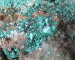 Very Rare Malachite specimen Copper Queen Mine Brisbee,Az. Metropolis colle