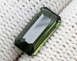 1.35 CT GREEN TOURMALINE BEST QUALITY GEMSTONE IGC85