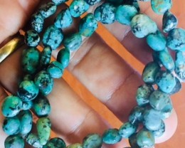three Natural turquoise Bracelets  PPP 1732