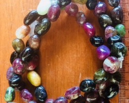three Natural Tourmaline  Bracelets  PPP 1735