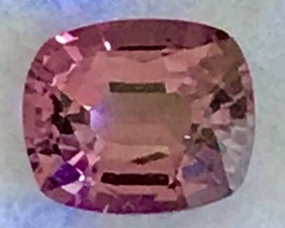 Luminous Purple Pink 1.7ct Cushion Cut Spinel - Myanmar