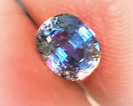 1.80CT BRIGHT BLUE SAPPHIRE -  LIGHT & SPARKLE FABULOUS FOR SETTING