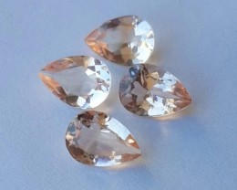 2.150 cts Exclusive Lustrous peach Morganite beauiful color bazil