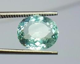 3.15 Crt Natural Aquamarine Faceted Gemstone (R 110)