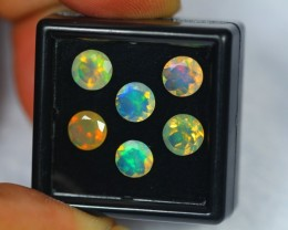 2.83Ct Natural Ethiopian Welo Faceted Opal Lot V205