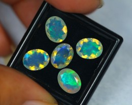 4.72Ct Natural Ethiopian Welo Faceted Opal Lot V214